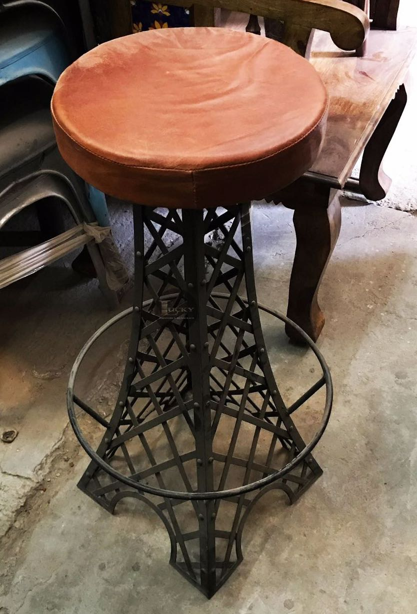 IRON AFIL TOWER BAR STOOL